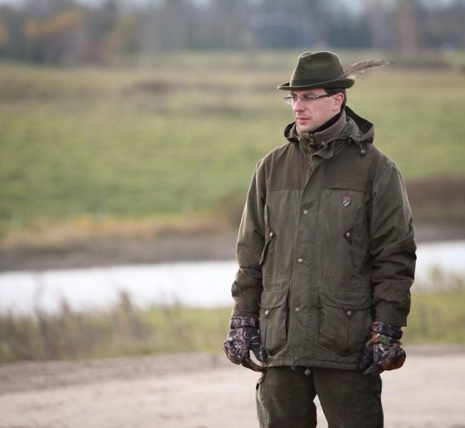 Retriverių lauko bandymuose asistentu dirbęs Marijus Vasiliauskas