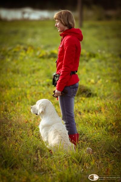 Dovilė ir Bora | Rudeniniai retriverių A ir B lygio lauko bandymai 2012 09 29